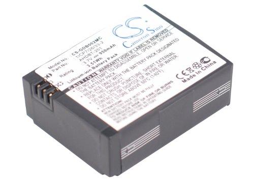 VINTRONS 3.7V Battery For GoPro Hero 03, Hero 3, AHDBT-201, 1ICP7/26/33-2, AHDBT-301, 601-00724-00A