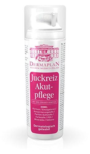 Dermaplan Juckreiz Akutpflege | trockene Haut & akuten Juckreiz effektiv lindern | Hautreizungen | Schuppenflechte | Neurodermitis | feuchtigkeitsspendend | 100% Vegan | Made in Germany, 150 ml