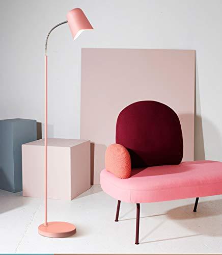 HIL kleur bedlampje persoonlijkheid modern Macaron vloerlamp creatief warm slaapkamer woonkamer tafellamp verticaal eenvoudige designerlamp