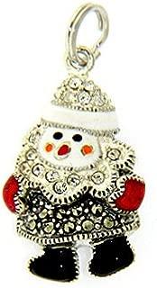 Christmas Snowman Charm