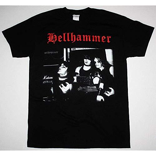 Hell Hammer Band Triumph of Death'83 Celtic Frost Triptykon New Black T-Shirt