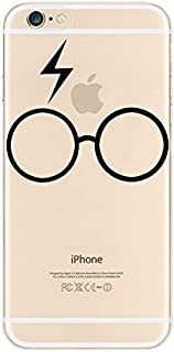 iPhone 6 / 6S Case, Deco Fairy Ultra Slim Rubber Silicone TPU Back Cover for Apple - Big Glasses