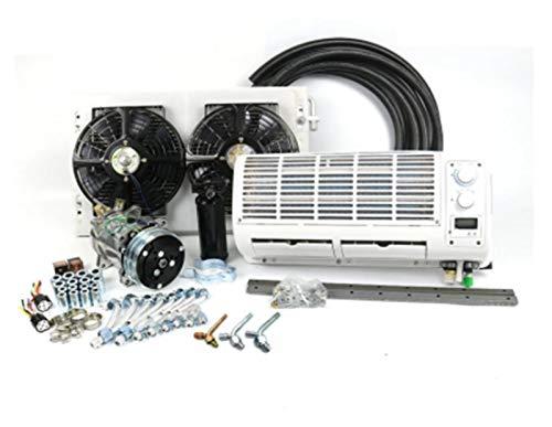XINGFUQY Condizionatore d'Aria A/C Universale a Parete 12V 24V Sistema climatizzazione Adatto for Il Veicolo for l'escavatore del Trattore del Furgone del Camion del Camion Pesante