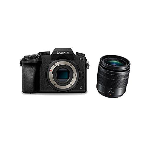 Panasonic Lumix DMC-G7 DMC-G70 12-60 3.5-5.6 Lumix G Vario Power OIS ASPH Fotocamera digitale 16.84 megapixel