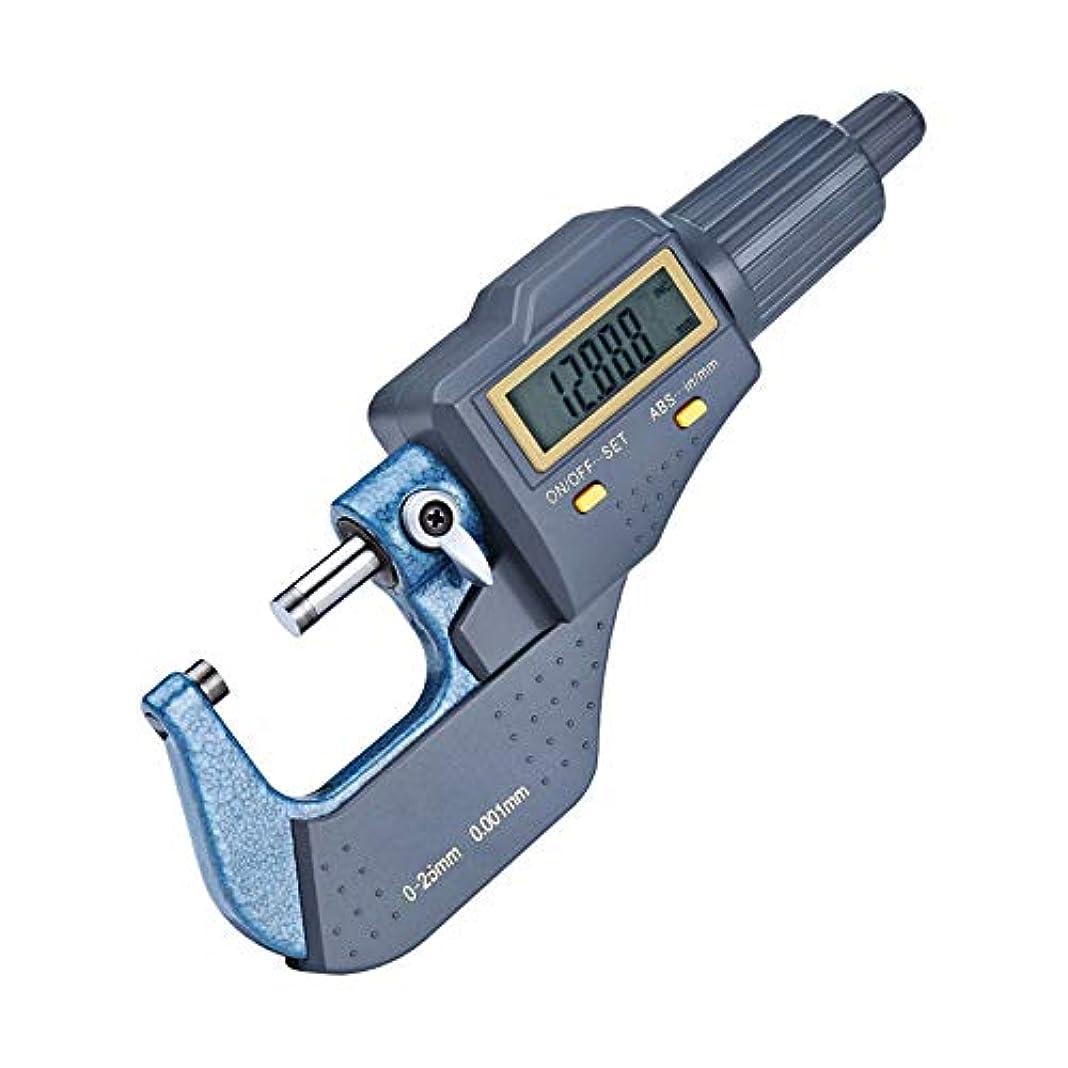 ながらバット玉ねぎEnhong マイクロメータ 0.001mm 厚み測定器 プロ 高精度 (デジタル式)