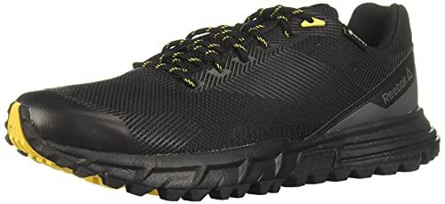 Reebok Herren Sawcut 7.0 GTX Trekking- & Wanderhalbschuhe, Mehrfarbig (Black/Grey Yellow 000), 41 EU