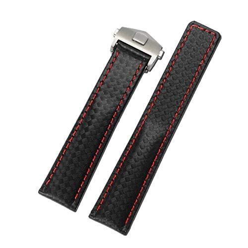 FOUUA Cinturino per orologio Cinturino per orologio in vera pelle di...