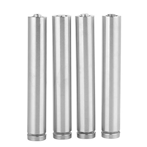 Glass Standoff, 4Pcs Stainless Steel Hollow 19120mm, 19150mm (Optional) Advertise Board Fixing Pins Glass Standoff, with Self Tapping Screws (19150mm)