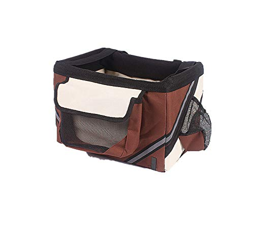 Aida Bz Haustier Outing Travel Bag Bag Bicycle Basket Cat Dog Bicycle Bicycle Bag Bag Bag Bag Tasche Lieferung Pet Out Portable Rucksack