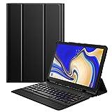 MoKo Funda para Samsung Galaxy Tab S4 10.5 Teclado, Cubierta con Soporte para S Pen, Protector de Teclado Inalámbrico...