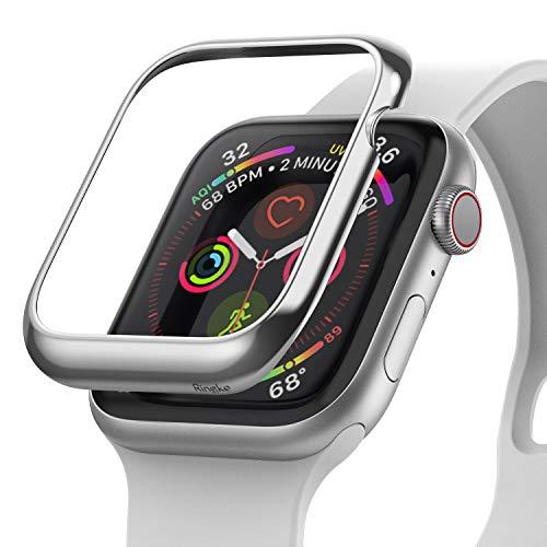 Ringke Bezel Styling für Apple Watch 6 40mm Hülle Edelstahl Gehäuse Schutz Lünette Ring [Kompatibel mit Apple Watch SE, Series 5,4] - AW4-40-01