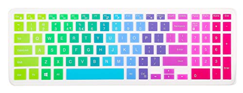 Keyboard Cover Compatible with 15.6' Dell Inspiron 15 3000 5000 7000 Series,15.6 Inch Dell G3 G5 G7 Series,Dell Inspiron 17 5000 17.3 Inch Series,17.3 Inch Dell G3 Series