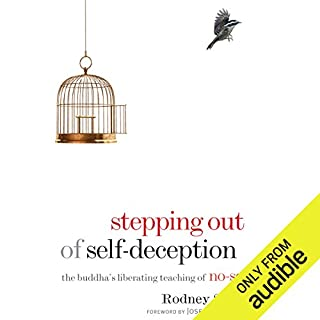 Stepping Out of Self-Deception     The Buddha's Liberating Teaching of No-Self              By:                                                                                                                                 Rodney Smith                               Narrated by:                                                                                                                                 Tom Pile                      Length: 10 hrs and 42 mins     11 ratings     Overall 4.5