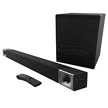 Klipsch Cinema 600 Sound Bar 3.1 Home Theater System with HDMI-ARC for Easy Set-Up Black