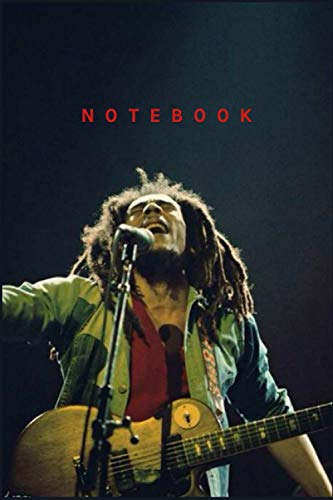 Bob Marley Notebook Gift 110 Pages 6x9 inches /Journal Great for Birthday or Christmas Gift: Perfect for taking notes , Sketching Soft Matte Cover