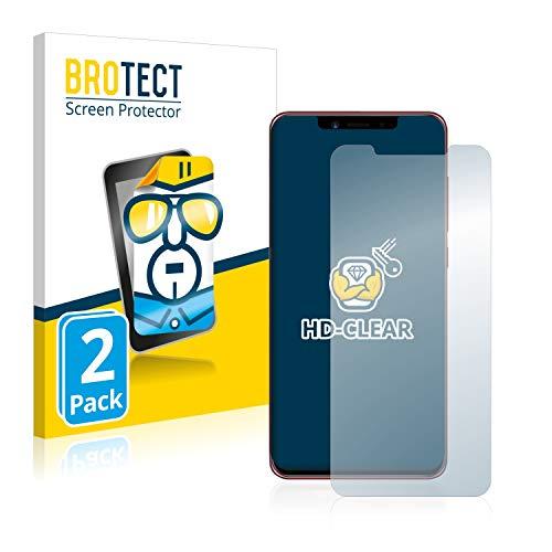 brotect Pellicola Protettiva Compatibile con Umidigi Z2 PRO Pellicola Trasparente (2 Pezzi) Anti-Impronte