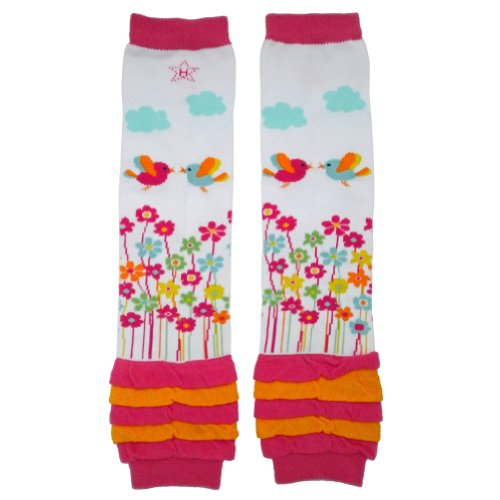 garden baby leg warmers