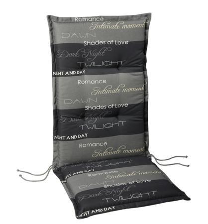 BEST 04141235 Coussin pour Chaise à Dossier Haut STS 48 x 48 x 7 cm, d.1235