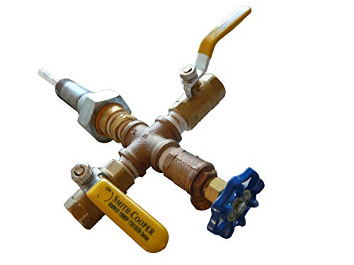 Hybrid Solar Water Heater Bottom Feed Connector
