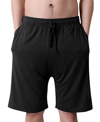 AIEOE - Hombre Pijama Corta Verano Pantalones de Dormit