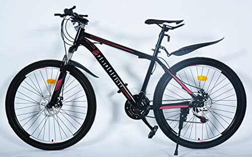 FS01 26 inch Adult Mountain Bike, Shimano 21 Speed Bicycle, Aluminium front suspension, Disc Brakes