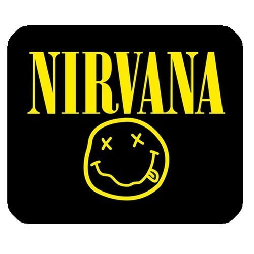 Generic Personalized Nirvana Famous Popular Band Logo for Rectangle Mouse Pad