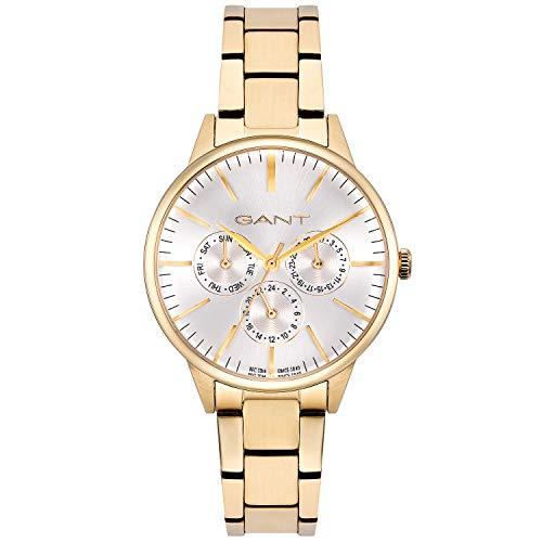 Reloj de Pulsera de Acero Inoxidable para Mujer GANT de Oro