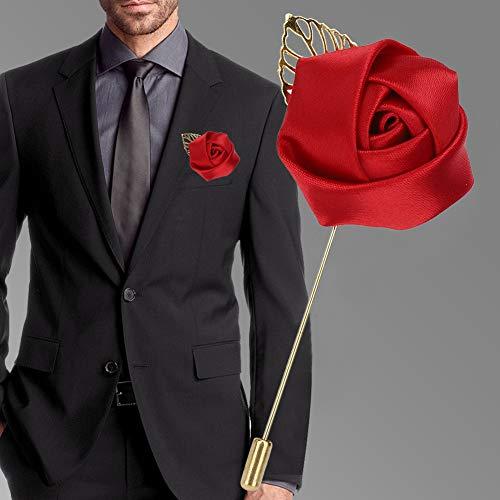 Conveniente para usar exquisito broche delicado hecho a mano, broche de boda, hermoso para bodas de aniversario