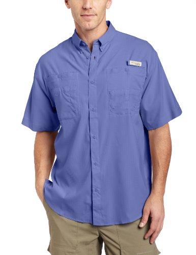 Columbia Men's Tamiami II Short Sleeve Shirt, Fairytale, Medium