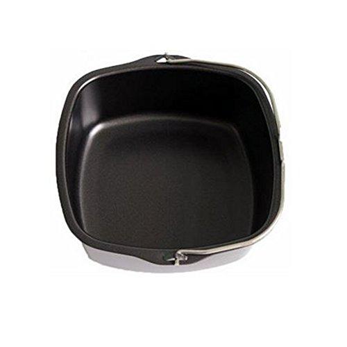 Freidora de aire, cesta, cocina, freidora de aire, accesorio de freidora eléctrica, antiadherente, bandeja de asado, compatible con HD9232 HD9233 HD9220 HD9627 HD9621