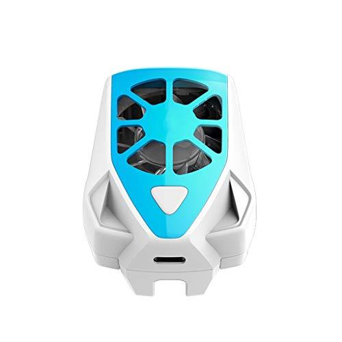 TWDYC Ventilador de refrigeración portátil Juego de teléfono móvil Juego de refrigeración radiador radiador Soporte teléfono móvil Tableta de Alta Temperatura enfriamiento