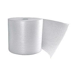 Plástico de burbujas para embalaje transparente de triple capa Ancho de la bobina: 50 centimetros Longitud total del rollo: 100 metros