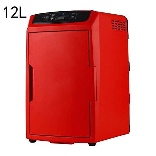 wangt 12 liter reiskoelkast, draagbare compacte elektrische koelbox, thermo-elektrische koeling/verwarmt minikoelkast voor auto camping