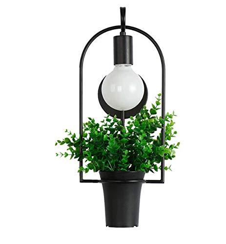 Wandlamp Moderne bloempot decoratieve wandlamp Fashion Nordic Shade moderne eettafel hanglamp doe-het-zelf lamp kantoorverlichting