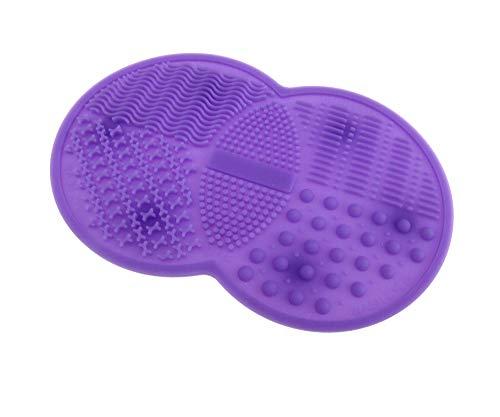 Pinselreiniger Kosmetik Büsten Pinsel Reiniger Make-Up Kosmetikpinsel Reinigung Reinigungsmatte...