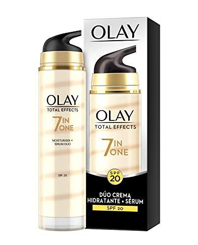 Olay Total Effects 7en1 Dúo Crema facial Hidratante + Sérum con SPF20 40 ml