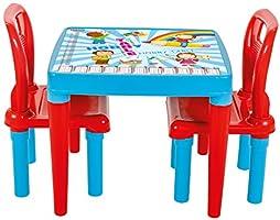 Pilsan Hobby 2 Sandalyeli Oyun Ve Aktivite Masasi Pembe