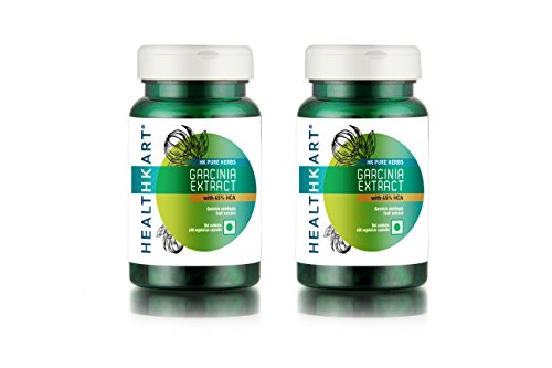 HealthKart Weight Management Combo – Garcinia Cambogia with 65% HCA (Pack of 2)