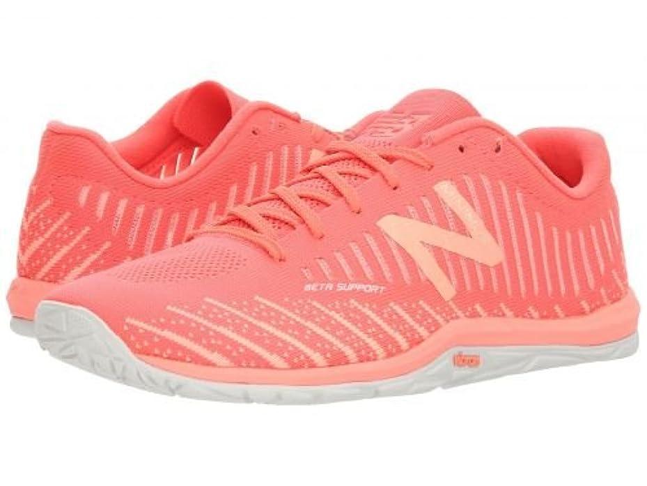 道民主主義負担New Balance(ニューバランス) レディース 女性用 シューズ 靴 スニーカー 運動靴 Minimus 20v7 Trainer - Vivid Coral/Fiji 5 B - Medium [並行輸入品]