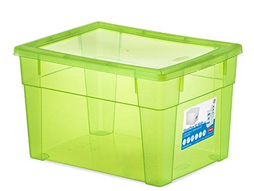 Stefanplast Visual Box Housse Universel, Vert Fluo, XL/39 x 29 x 24 cm