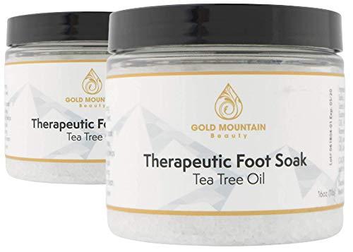 Tea Tree Oil Foot Soak with Epsom S…