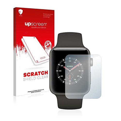 upscreen Pellicola Protettiva Compatibile con Apple Watch Edition Series 3 (42 mm) Protezione Proteggi Schermo – Trasparente, Anti-Impronte