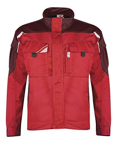 PKA Veste de Travail (250 G/m2), Mixte Adulte, BWBJ, Rouge - Rouge, L