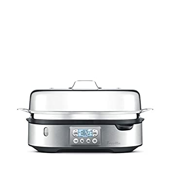 Stainless Steam Zone Food Steamer: photo
