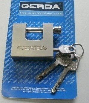 Gerda–kswt 50(Made in Polen) High Sicherheit Shutter Vorhängeschloss/Abloy Typ