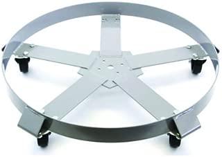 Drum Dolly 55 Gal 5 Wheel Swivel Casters Heavy Steel Frame Easy Roll 1250 lbs