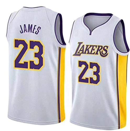 Los Angeles Lakers #3 Anthony Davis Bordado Swingman Transpirable y Resistente al Desgaste Camiseta para Fan Camiseta de Baloncesto para Hombre