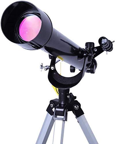 J-Love Telescopio, AZ Telescopio astronómico Refractor con trípoy 2 oculares Telescopio astronómico Principiantes para astrofotografía