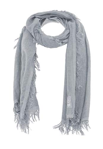 DAILY`S NOTHING`S BETTER BY S. W. B. Coco: Damen Schal aus 100% Biobaumwolle, Color:Fox-Grey, Size:M