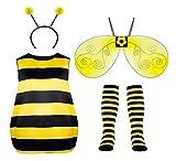Seawhisper Disfraz de abeja para mujer, disfraz de carnaval, Halloween, tallas 38, 40, 42